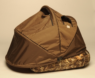 Duck Blind Canopy w/Camo Grass (float tube not included)