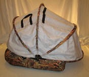 White Muskrat Hut Duck Blind - SOLD OUT