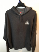 2XL Slate Gray pullover Hoody