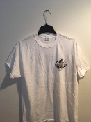Size LARGE Black and White T Shirt